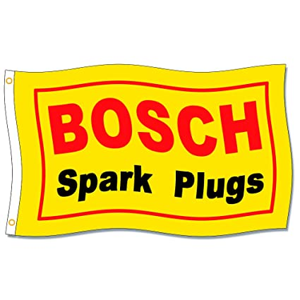 Amazon.com: Home King Bosch Spark Plugs Banderas de 3 x 5 ...