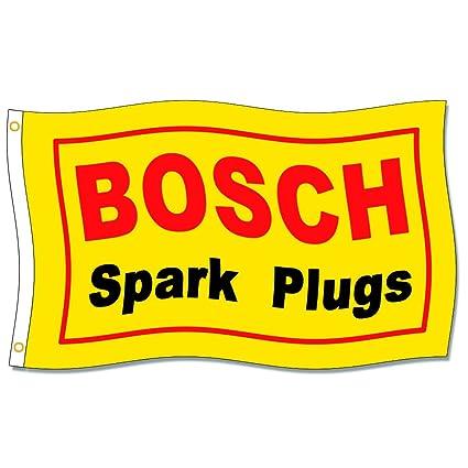 Amazon.com: Home King Bosch Spark Plugs Banderas de 3 x 5 ...