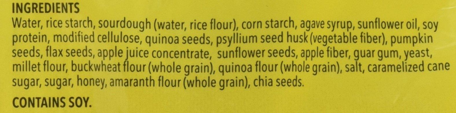 Schar Gluten Free Artisan Baker 10 Grain & Seeds Bread, 6 Count by Schar (Image #2)