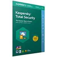 Kaspersky Total Security 2018 | 10 Devices | 1 Year | PC/Mac/Android | Download