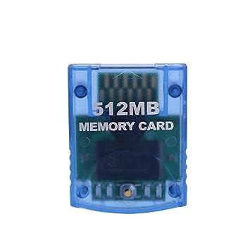Tarjeta de Memoria Gamecube de 64MB / 512MB, Tarjeta de Memoria de ...