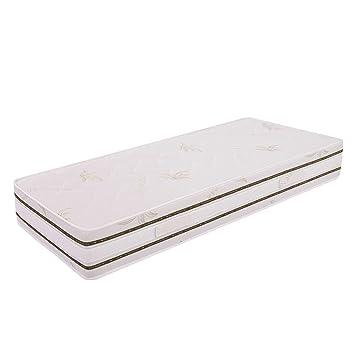 Ailime Top colchón Individual de Memoria extraíble, 85x190x25 cm, Aloe Vera, Blanco, Un Cuadrado: Amazon.es: Hogar