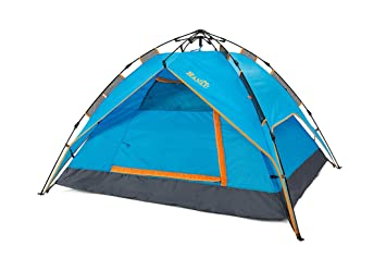 HANLU Waterproof C&ing Tent 3-4 Person Family Tent Lightweight Backpacking Tents(Blue)  sc 1 st  Amazon.com & Amazon.com : HANLU Waterproof Camping Tent 3-4 Person Family Tent ...