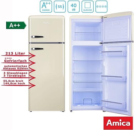 Amica KGC15635B nevera y congelador Independiente Beige A++ ...