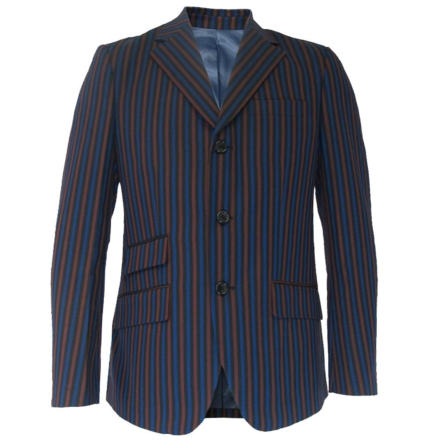 1920s Mens Suits Mens Warrior Striped Classic Mod Boating Blazers/Jackets $129.95 AT vintagedancer.com