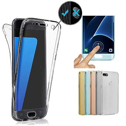 half off a3151 76e7d Amazon.com: Miagon Full Body Case for Huawei P Smart,360-degree Case ...