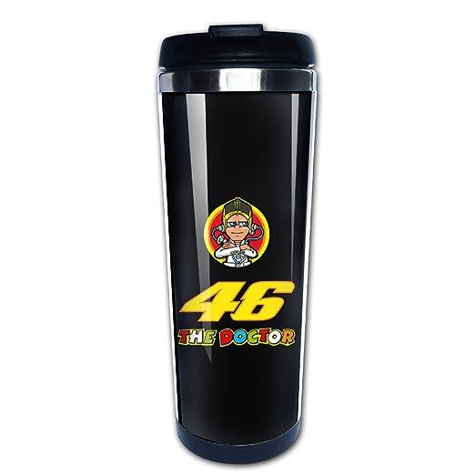 Valentino Rossi 46 motocicleta acero inoxidable al vacío taza de ...