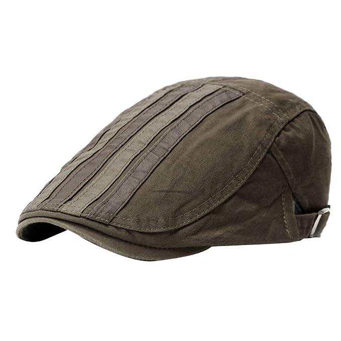 Sombrero De Sol para Hombre Sombrero Plano Sombreros Sombreros De Hiedra De Caza Especial Estilo Sombrero