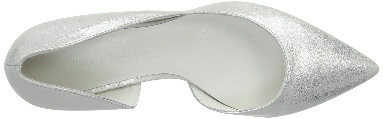 Kennel und Pumps Schmenger Schuhmanufaktur Damen Selma Pumps und Weiß (Weiß) 72ca0e