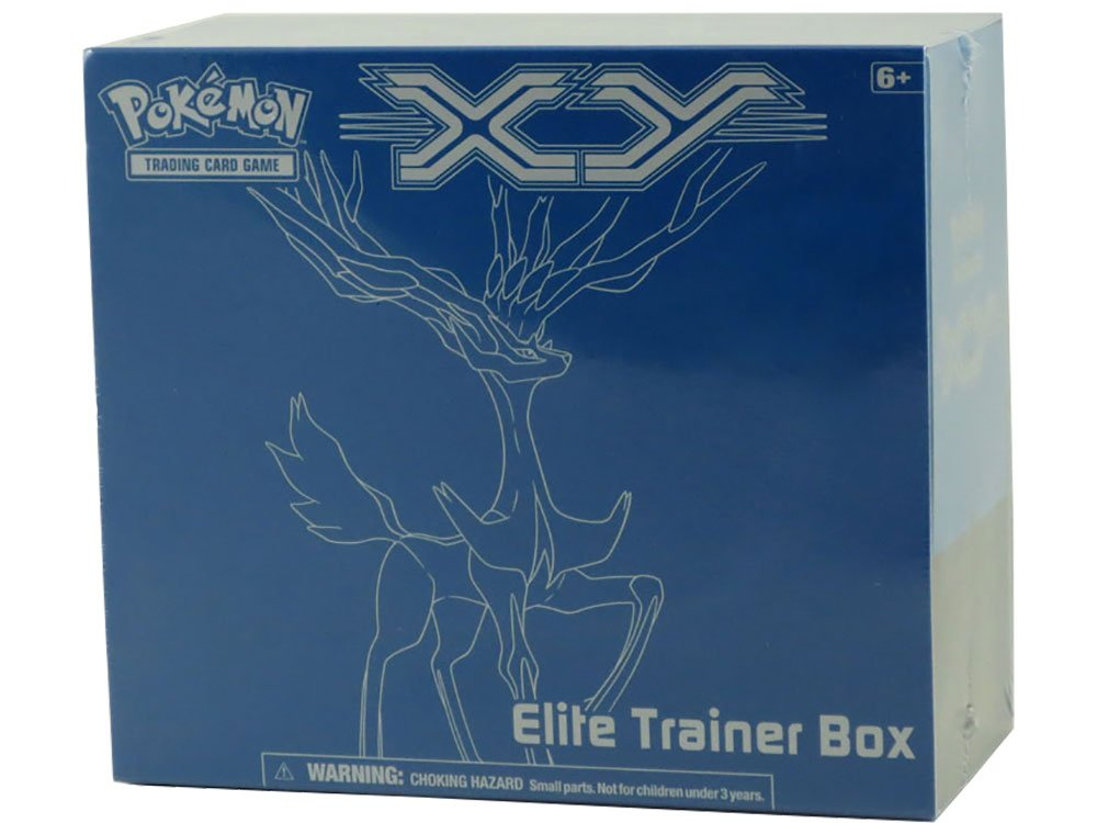 Pokemon Card Game X & Y Elite Trainer Box: Xerneas (Blue Fat Pack)