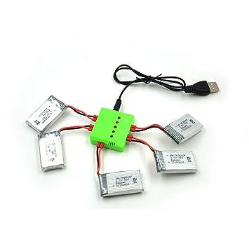 WayIn® Baterías / 1pc verdes 5 x 1 cargador de batería Los ...