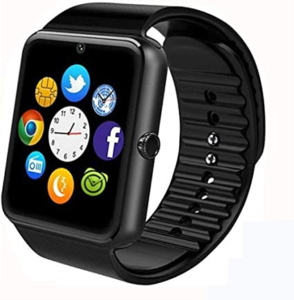 Smart Watch Phone, Smartwatch with Pedometer TF SIM Card Slot Camera Call Text SMS Notification Compatible with Android Samsung Huawei LG Sony and IOS ...