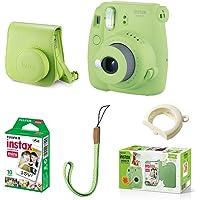 Kit Câmera instantânea Fujifilm Instax Mini 9, Verde Lima