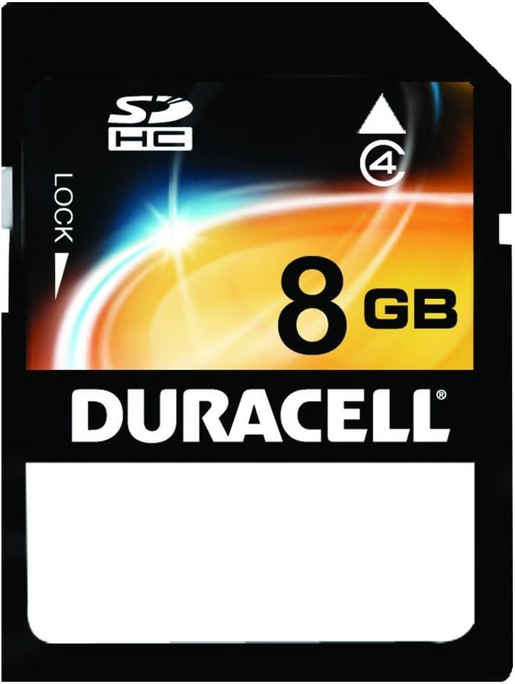 Duracell DU-SD-8192-C 8GB Clamshell Secure Digital Card