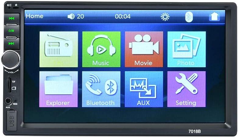 Double Din Car Stereo 7 Zoll Hd Touch Screen Car Mp5 Elektronik