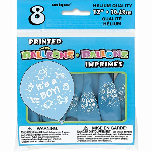 baby shower boy balloons - 5