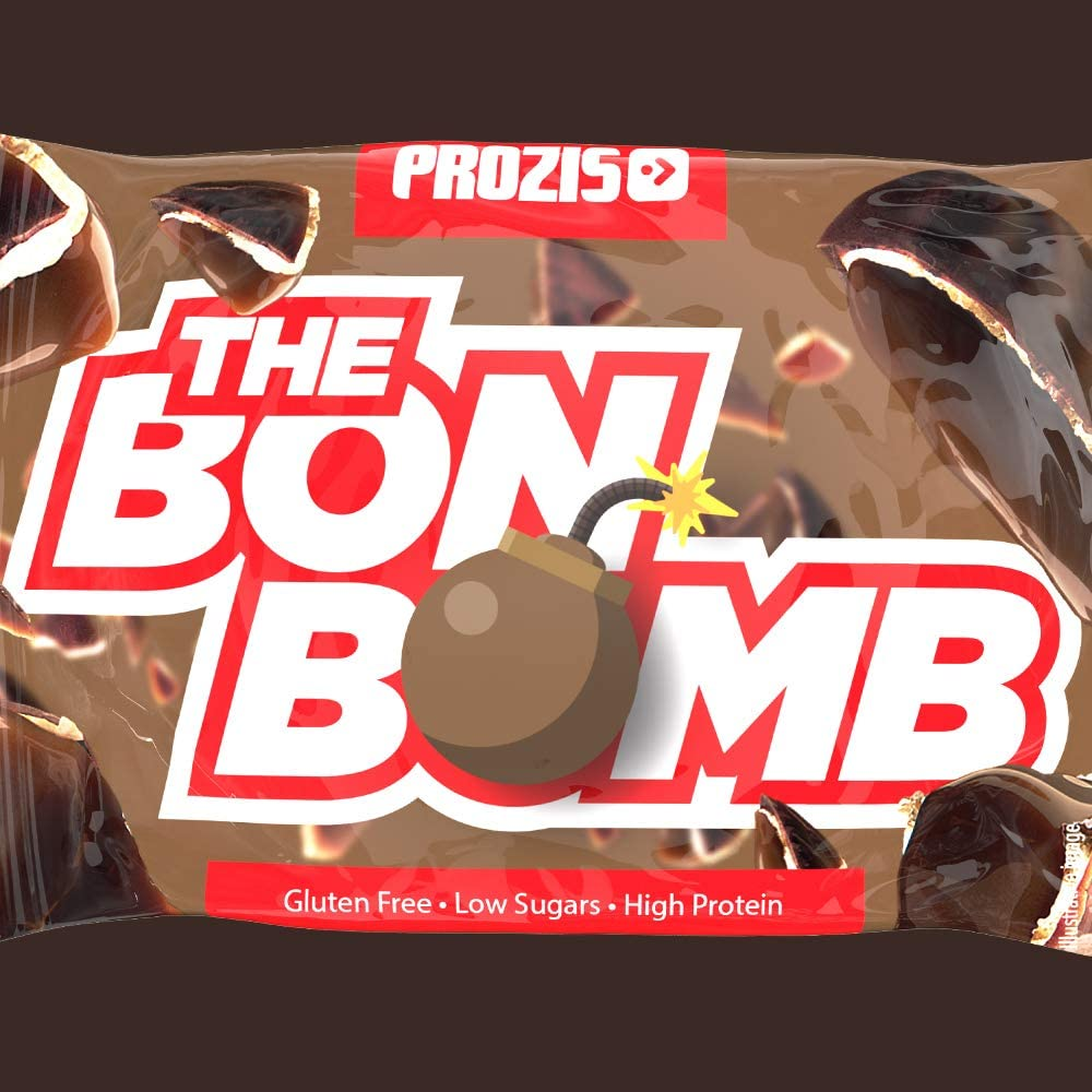 Prozis The Bonbomb – High Protein – Low Sugars – Snack sin ...