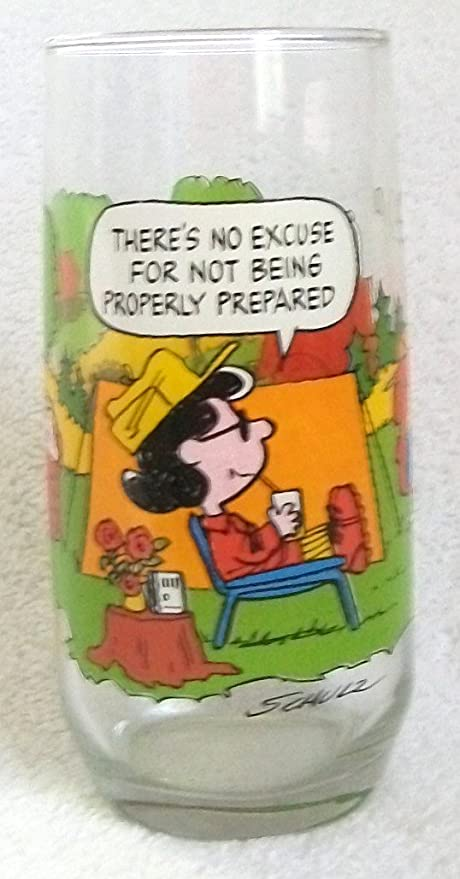 b08bc0569f Image Unavailable. Image not available for. Color  1968 Camp Snoopy  Collection Glass ...