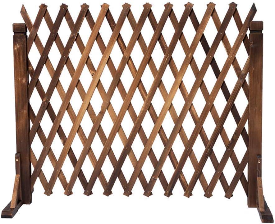 YQGOO Garden Fence,Garden Fence-Expanding Fence Garden Screen Trellis Style Expands to 1.6M Outdoor Decoration Guardrail 90CM