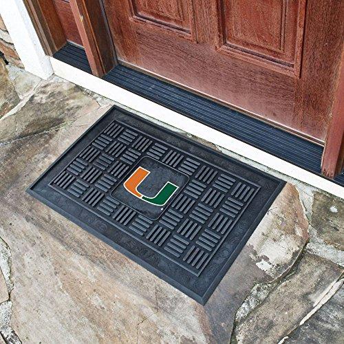 Fanmats University of Miami Medallion Door (Miami Hurricanes Mat)