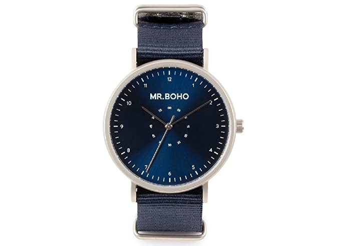 Mr Boho Iron Blue Classic Metallic