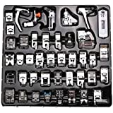 42 PCS Domestic Sewing Machine Foot Presser Feet Kit