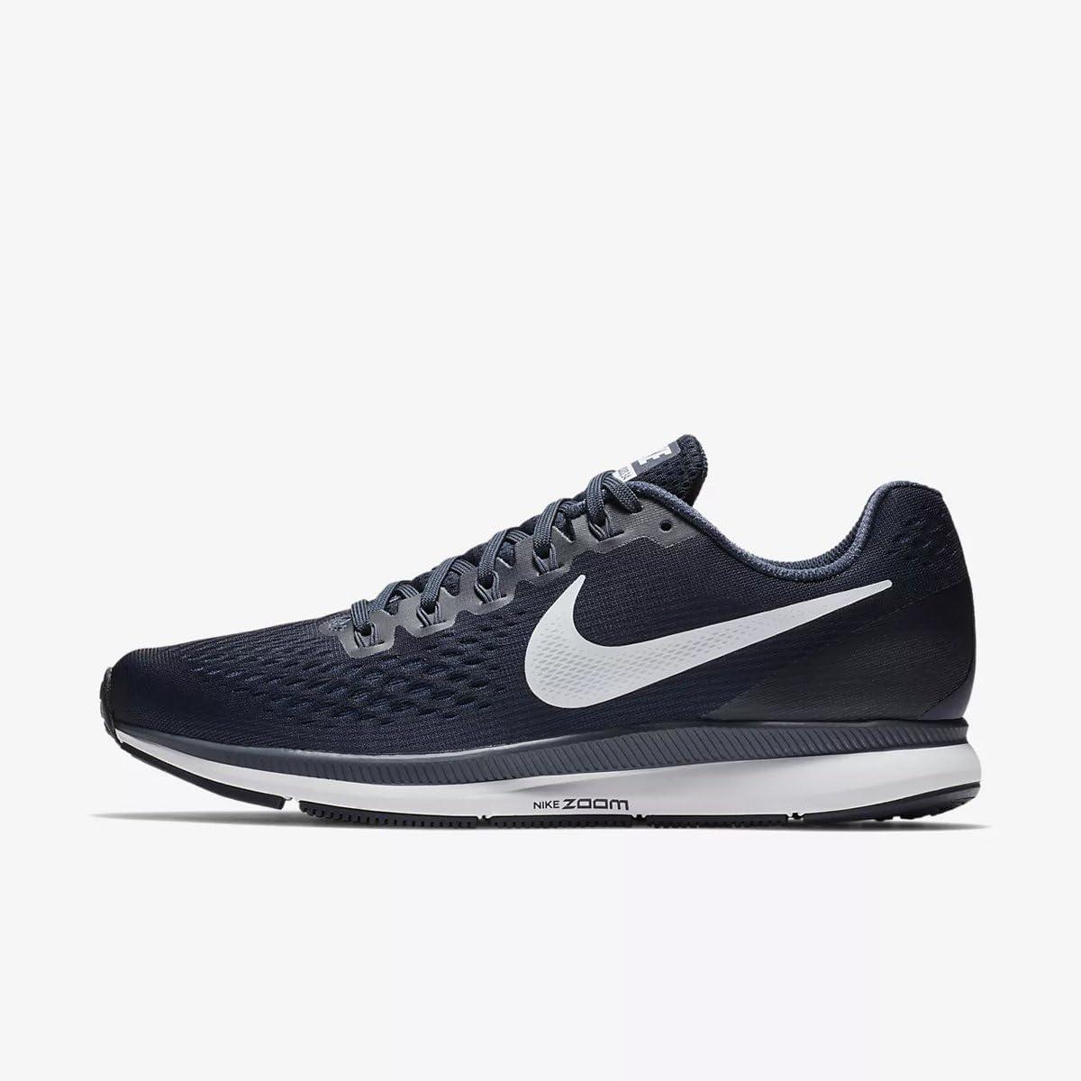 Nike Air Zoom Pegasus 34 Zapatillas de running para hombre, negro, 12.5 M US