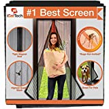 "#8: Magnetic Screen Door, Full Frame Velcro. Fits Door Openings up to 34""x82"" MAX"