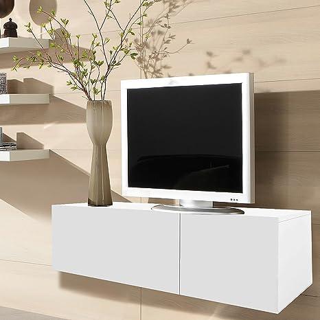 Melko Lowboard Fernsehschrank Sideboard Aus Holz 120cm Tv