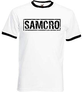 100/% algod/ón, Sons Of Anarchy Samcro Unisex Bolsa Deporte Negro