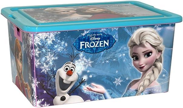 ColorBaby - Caja ordenación 35 litros, diseño frozen (76618 ...