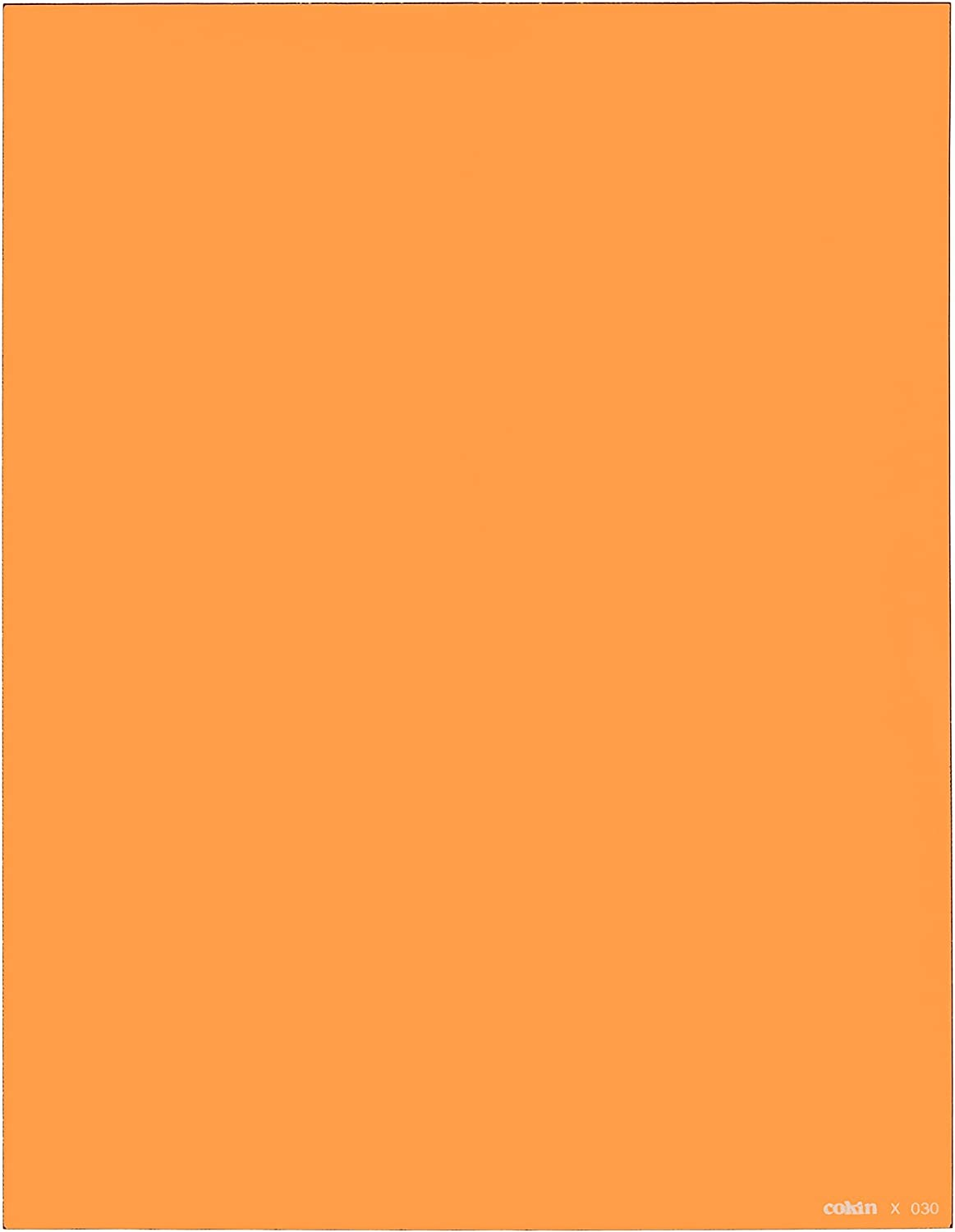130mm X 130mm - 2//3-Stop for XL X030 Series Holder Cokin Square Orange 85B X