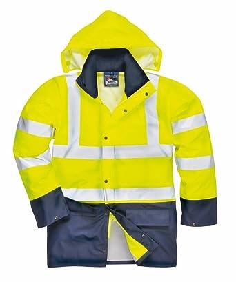 Bekleidung & Schutzausrüstung Warnschutzregenjacke leuchtgelb Gr XXL