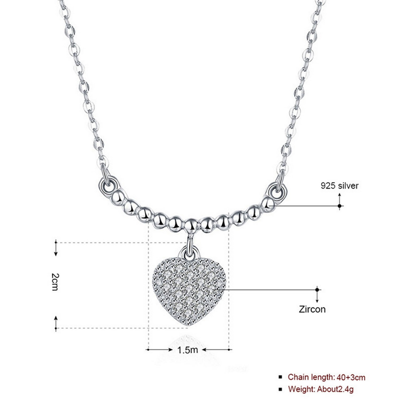 MMC Womens Necklaces Heart Bridel Pendants