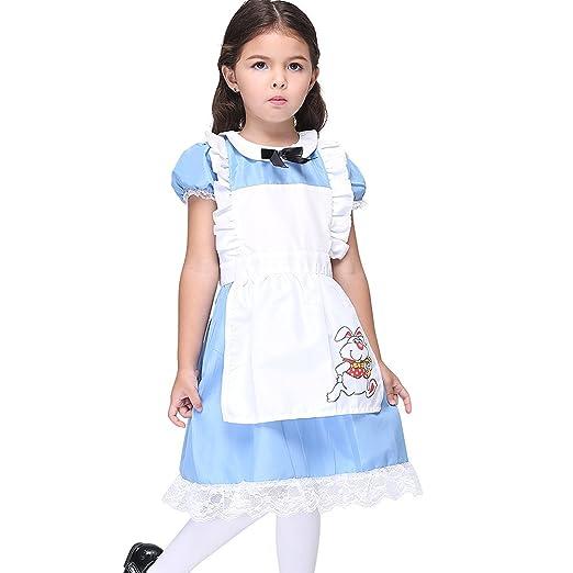0d805c70c816 Vivihoo EK027 Lil Alice in Wonderland Toddler's Costume Cosplay Dress For Little  Girl ...