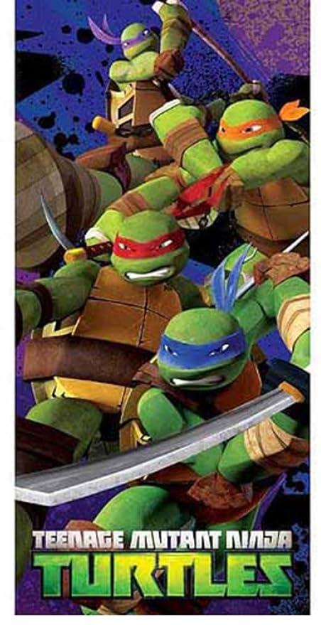 Teenage Mutant Ninja Turtles Nickelodeon Toalla de Playa de ...