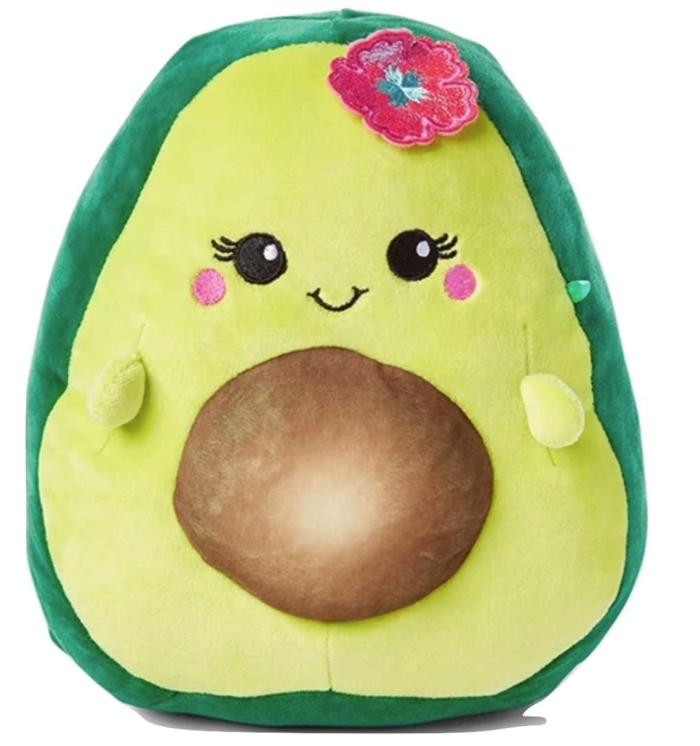 Squishmallows Justice 8'' Ava The Avocado Mixed Berry Scented Green Super Soft Plush Pillow Stuffed Animal by Squishmallows