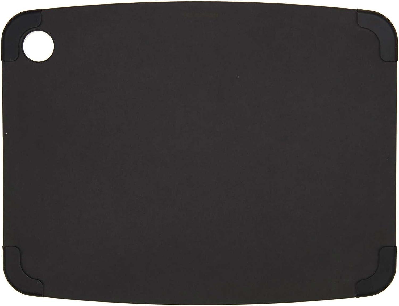 Epicurean Non-Slip Series Cutting Board, 14.5-Inch by 11.25-Inch, Slate/Slate