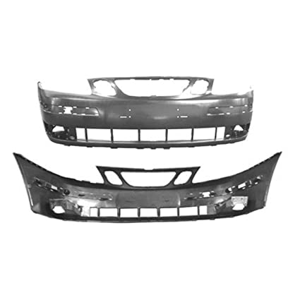 Amazon.com: CPP Primed Front Bumper Cover Replacement for 2003-2007 Saab 9-3: Automotive