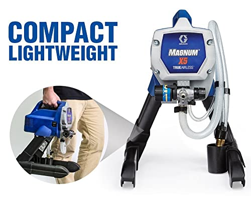 Graco Magnum X5 is one of the best high-speed performance sprayer.