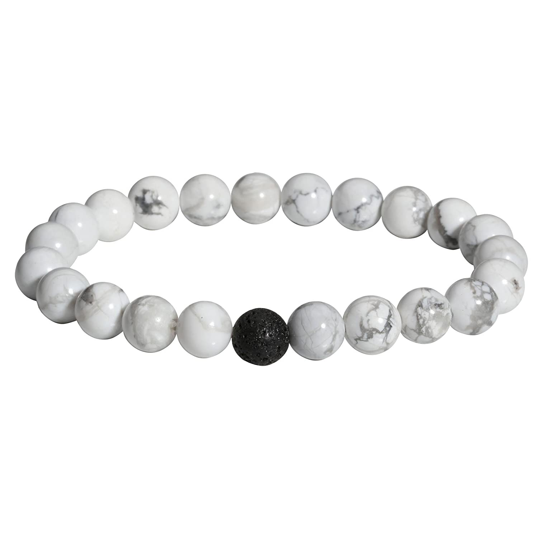 Milakoo Couples Beads Bracelet Energy Stone Friendship Relationship Bracelet Jewelry Set