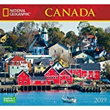 National Geographic Canada 2019 Wall Calendar
