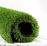 Synthetic Turf Artificial Lawn Grass Indoor Outdoor Premium Realistic Landscape (6.5 ft X 10 ft = 65 sqf)