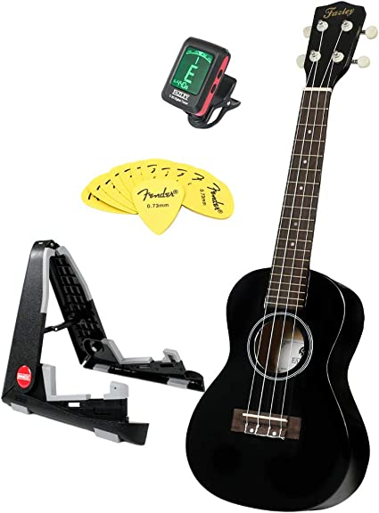 fazley Concert Pack k23b Pack ukelele principiantes: Amazon.es: Instrumentos musicales