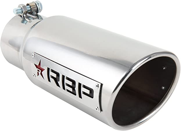 45125 Exhaust Tip RX-1 High Heat Dual Badged Rolling Big Power RBP