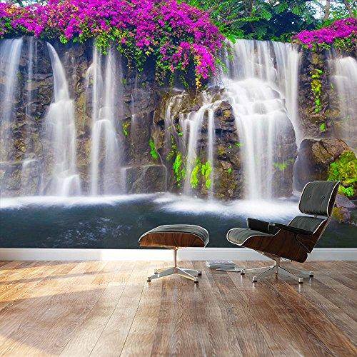Wallpaper Large Wall Mural Series ( Lush Waterfall)