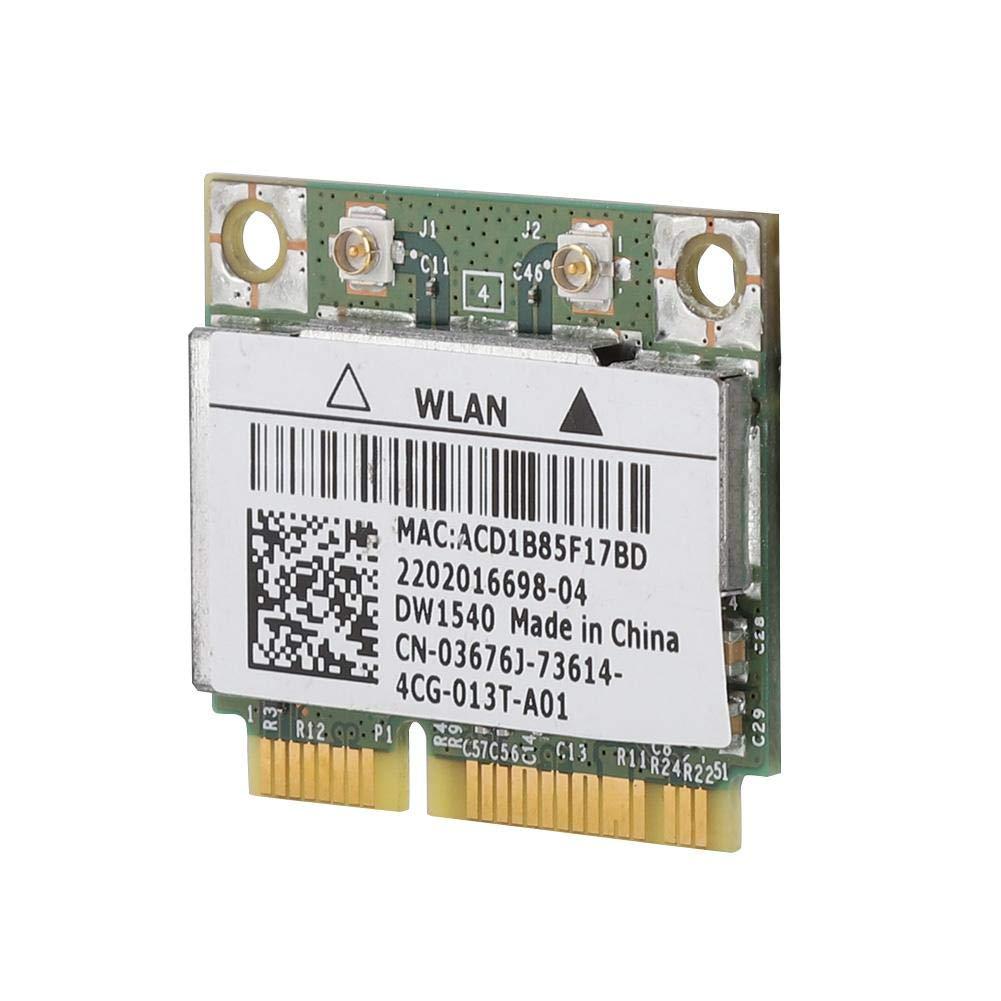 Carte r/éseau dordinateur pour la Carte Mini PCI-e WiFi /à Double Bande Double Bande BCM943228HM4L DW1540 802.11 a//b//g//n