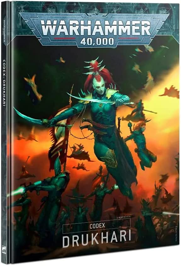 Games Workshop CODEX: DRUKHARI (HB) (ENGLISH)