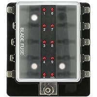 Soportes para fusibles de imagen y sonido en vehículos