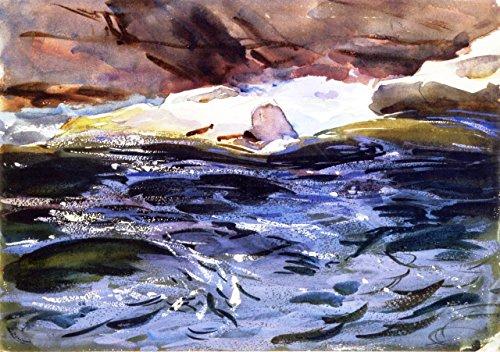 Salmon River by John Singer Sargent - 18